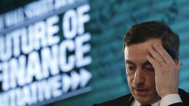 Mario Draghi, Quelle: REUTERS