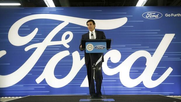 Ford-Chef Mark Fields Quelle: AP