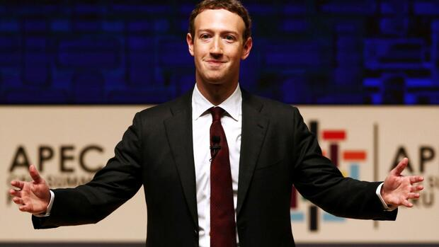 Platz zehn: Mark Zuckerberg Quelle: REUTERS