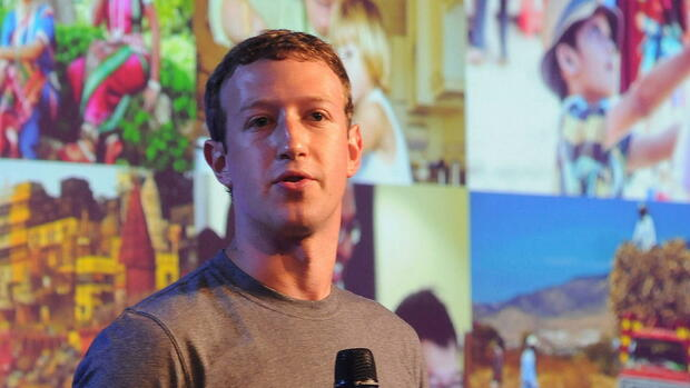 Platz 4: Mark Zuckerberg mit 71 Milliarden Dollar Quelle: dpa