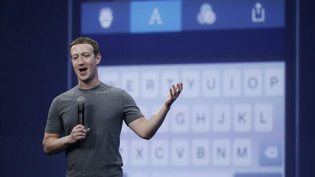 Facebook-CEO Mark Zuckerberg Quelle: AP