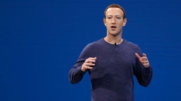 Facebook-Chef Mark Zuckerberg Quelle: dpa