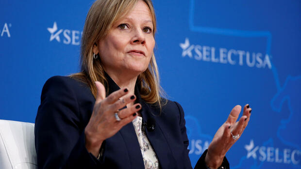 Mary T. Barra Quelle: REUTERS