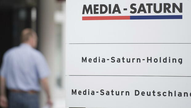Schild von Media-Saturn Quelle: dapd