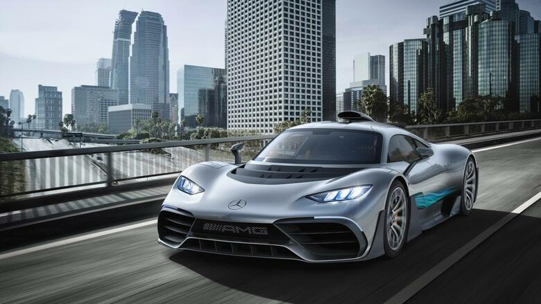 Mercedes-AMG Project One Quelle: Daimler