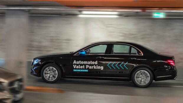 Mercedes Automated Valet Parking Quelle: Daimler