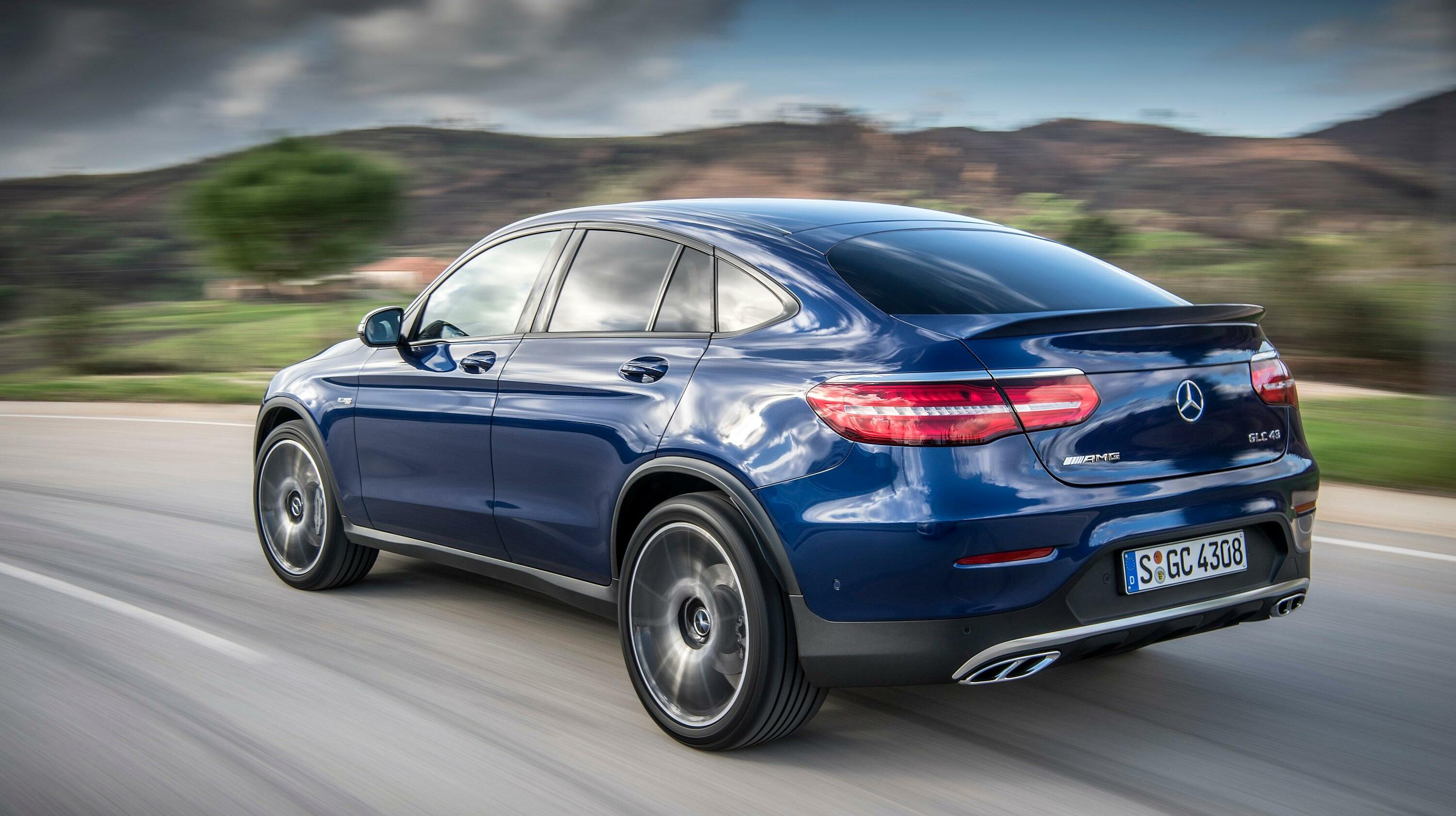 Mercedes-AMG GLC 43 Coupé Quelle: Daimler