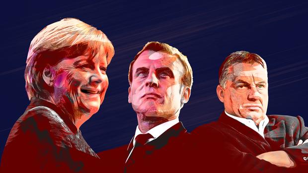 Knauß kontert: Die drei zentralen Politiker in der EU