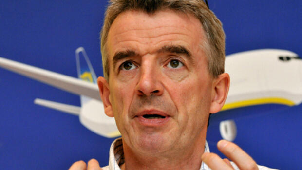 Michael O'Leary, Chef der Quelle: dpa