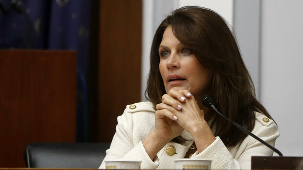 Michele Bachmann, Frontfrau der Tea Party in den USA. Quelle: AP