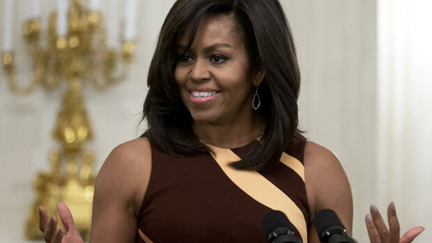 Michelle Obama Quelle: AP