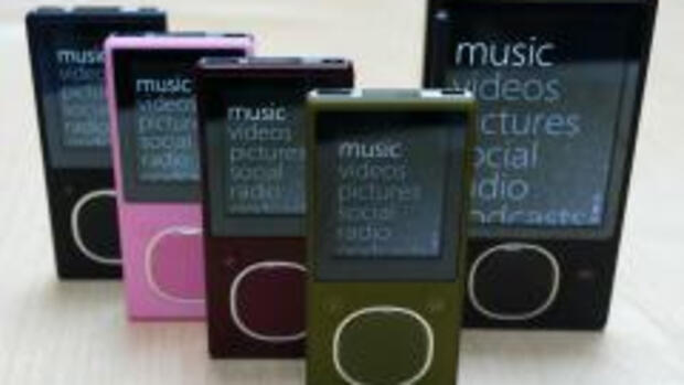 MIcrosofts mp3-Player Zune - Quelle: REUTERS