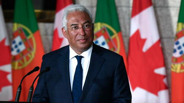 Portugals Ministerpräsident António Costa Quelle: dpa
