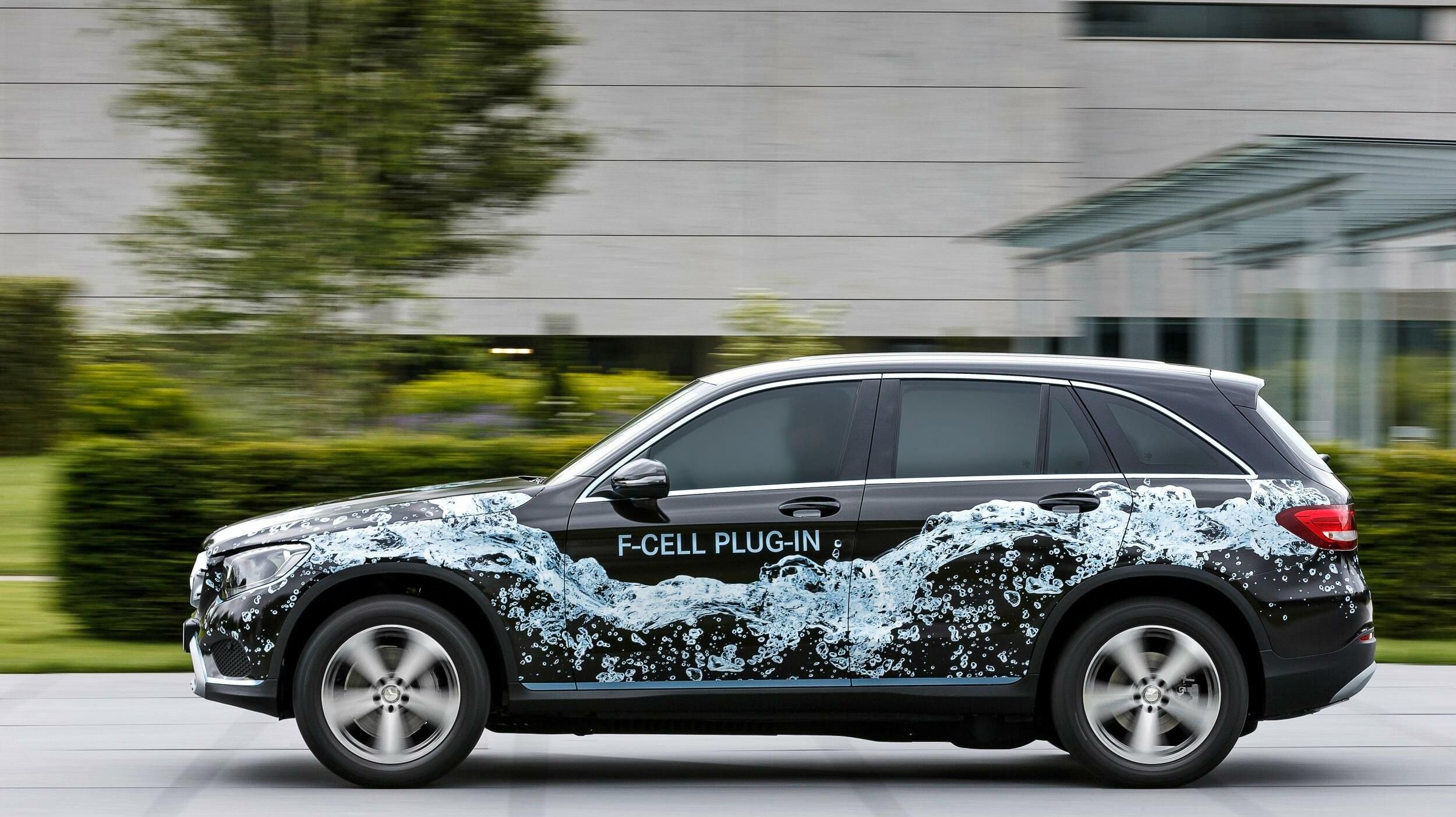 Serienversion des GLC F-Cell? Quelle: Mercedes-Benz