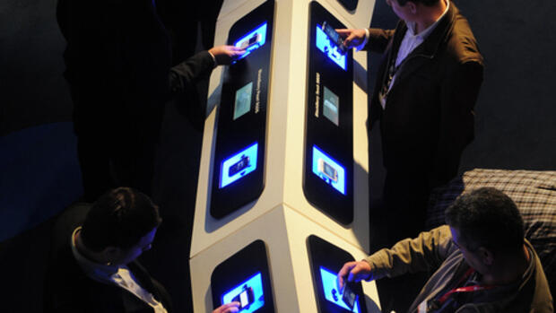 Mobile World Congress in Quelle: dapd