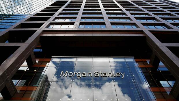 Das Morgan-Stanley-Logo am Headquarter in London Quelle: REUTERS