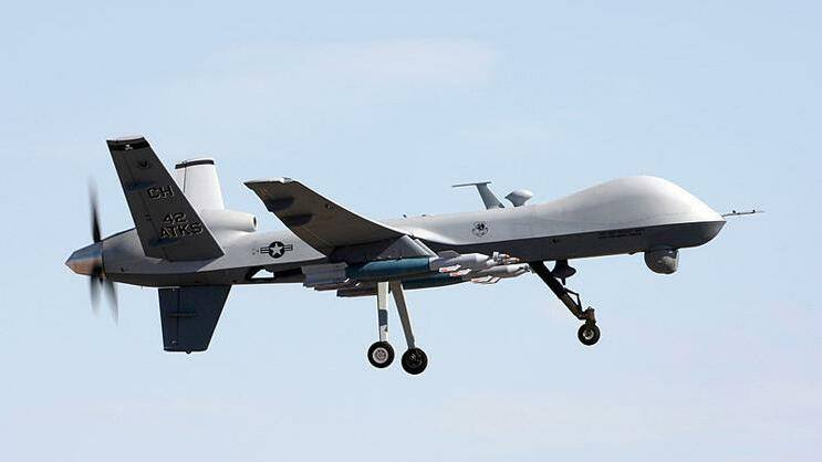 MQ-9 Reaper (General Atomics, USA) Quelle: Gemeinfrei