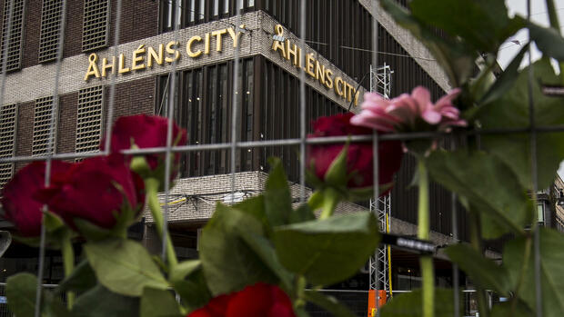 SchwedenGedenken an Opfer des Anschlags