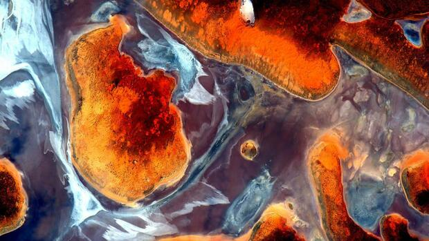 EarthArt von Nasa-Astronaut Scott Kelly Quelle: Nasa