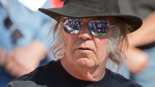 Neil Young als Global Player Quelle: AP