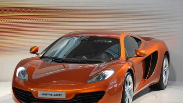 Neuer McLaren Automotive Quelle: REUTERS