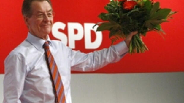 Neuer SPD-Chef: Der Optimismus Quelle: REUTERS