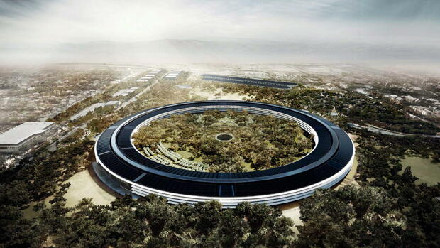 Apple Campus Entwurf Quelle: dpa
