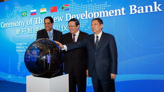New Development Bank: Premiere für Konkurrenz der Weltbank