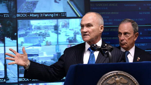 New York Ray Kelly Michael Bloomberg Quelle: dpa