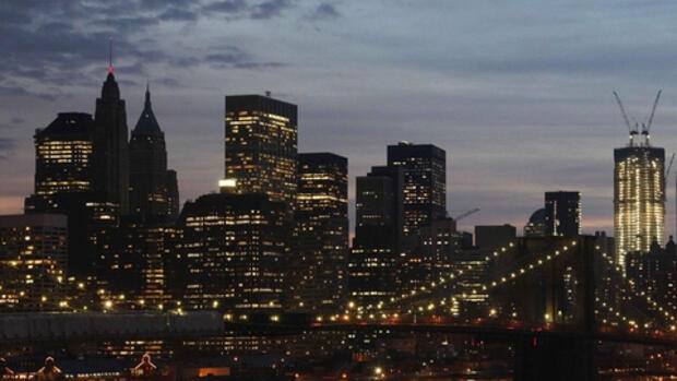 New Yorks Finanzzentrum Quelle: dapd