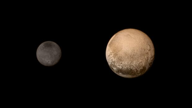 Pluto and Charon Quelle: NASA