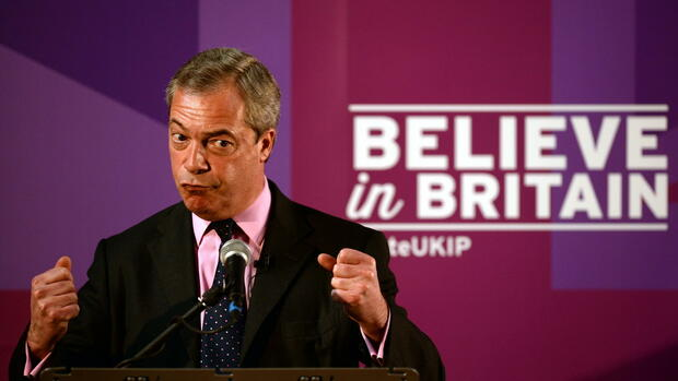 Nigel Farage Quelle: dpa