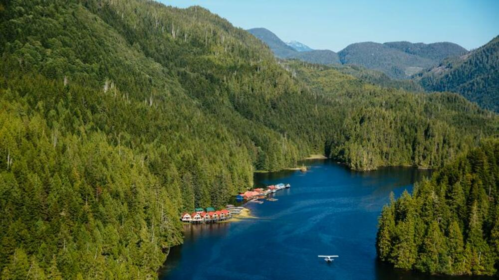 Nimmo Bay Wilderness Resort in Kanada Quelle: National Geographic Travel