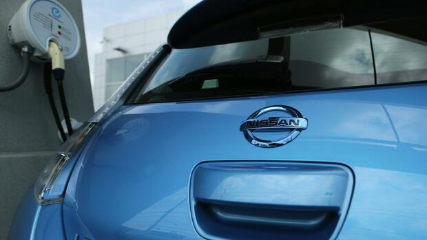 Nissan Leaf Quelle: Reuters