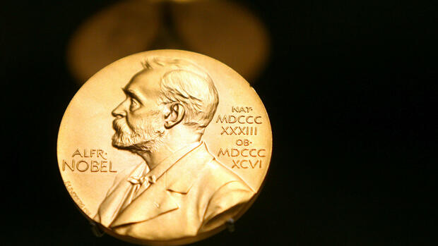 Medaille Alfred Nobel Quelle: dpa