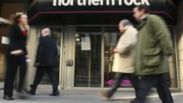 Northern Rock in London Quelle: AP