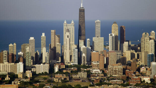 Skyline von Chicago Quelle: dapd