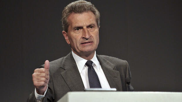 Günther Oettinger Quelle: dapd