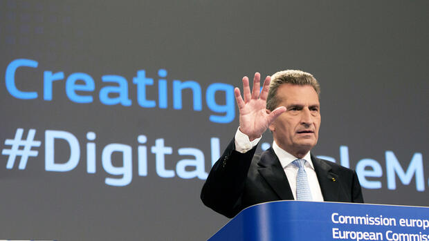 Günther Oettinger fehlt die digitale Expertise Quelle: AP