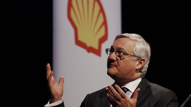 Shell-Chef Peter Voser Quelle: Reuters