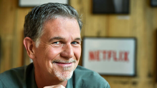 Netflix, Reed Hastings Quelle: dpa