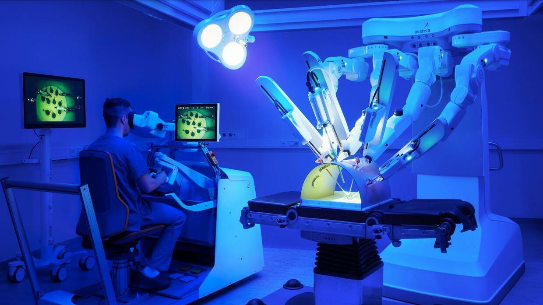 Wenn Roboter den OP-Saal erobern