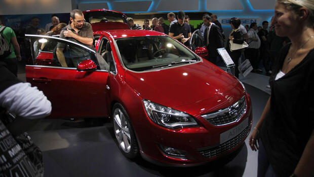 Opel Astra Quelle: Reuters