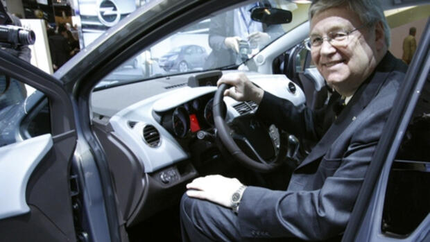Opel-Chef Nick Reilly Quelle: REUTERS