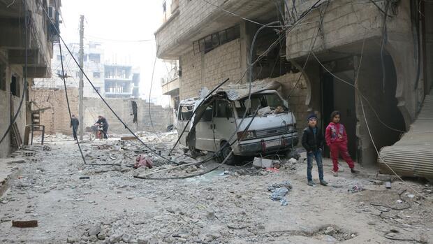 USA werfen Russland Tötung von Zivilisten in Syrien vor