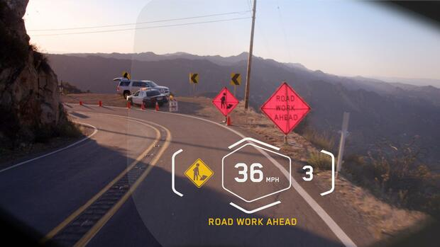 Head-up-Display Quelle: BMW