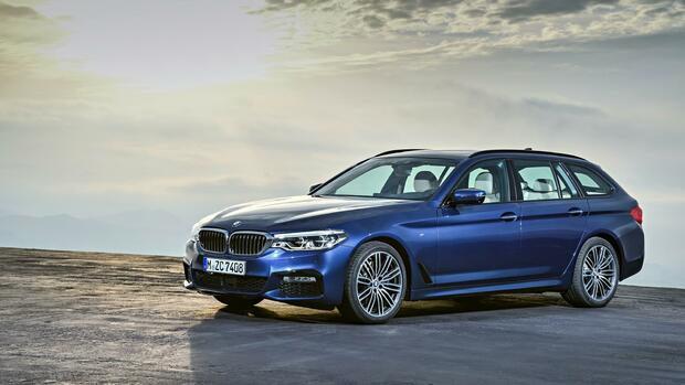 BMW 5er Touring Quelle: BMW