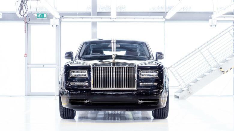 Teuerste limousine der welt  Rolls-Royce Phantom: Die teuerste Limousine der Welt dankt ab