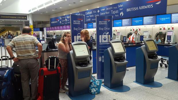 Nach Stromausfall IT-Panne legt British Airways weiter lahm