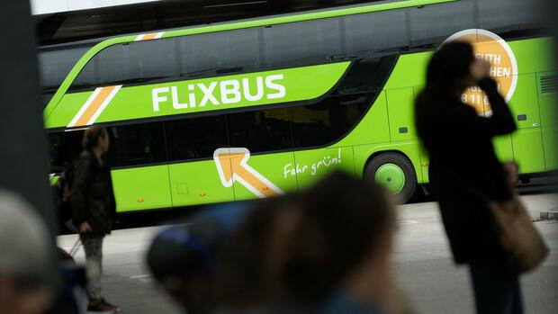 FlixBus am ZOB in Berlin. Quelle: REUTERS